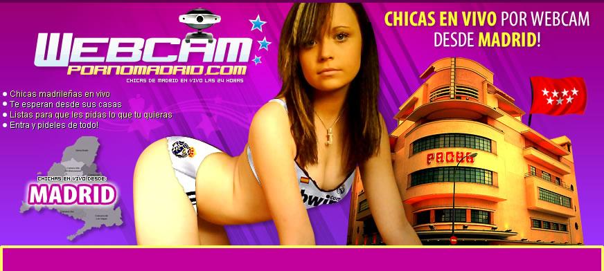 Chicas con Webcam en el Videochat de Sexo